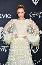 Kathryn Newton At InStyle And Warner Bros. 77th Annual Golden Globe Awards Post-Party