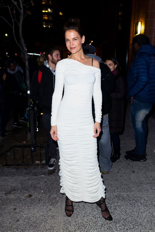 Katie Holmes At AAA Arts Awards Gala to support Australian Bushfire Relief New York