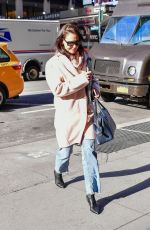 Katie Holmes Heading to a casting call in NYC