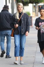 Katie Morton Out in Studio City