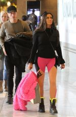 Katie Price Out for shopping with her boyfriend in New York City