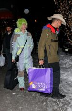 Katy Perry & Orlando Bloom Out for shopping in Aspen, Colorado
