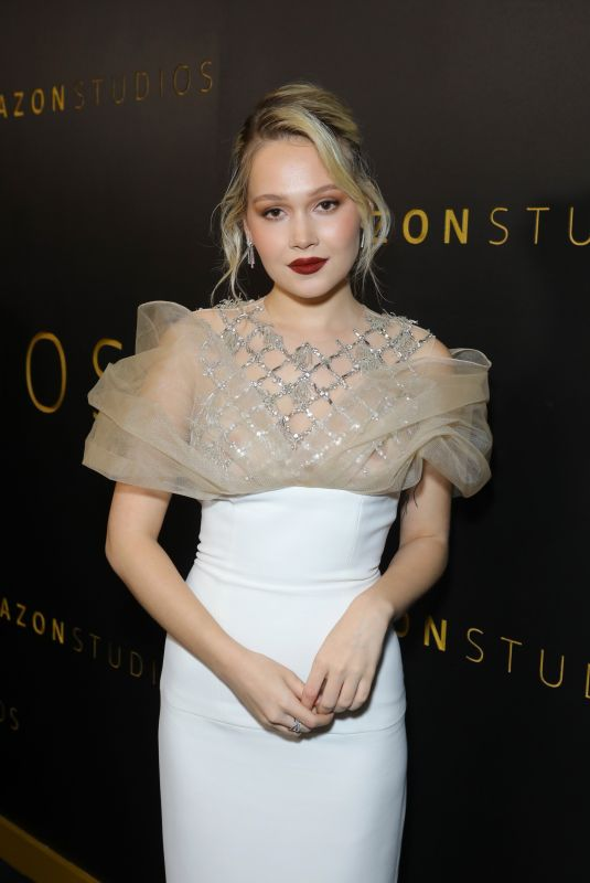 Kelli Berglund At Amazon Studios Golden Globes After Party in Beverly Hills