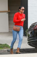 Kelly Rowland Stops by Hollywood Facialist Shani Darden