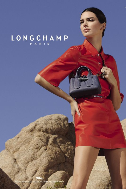 Kendall Jenner - Longchamp Spring & Summer Campaign 2020