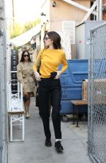 Kendall Jenner Out for lunch at The Butcher