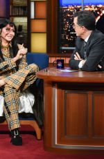 Kesha At The Late Show with Stephen Colbert in New York