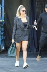 Khloe Kardashian Shares a cute smile with our cameras after she wraps up a studio session at a Calabasas studio
