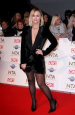 Kimberley Walsh At National Television Awards 2020 at The O2 Arena in London