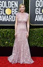 Kirsten Dunst At 77th Annual Golden Globe Awards in Beverly Hills