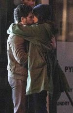 Kit Harington & Gemma Chan Passionately kiss as they shoot scenes for new Marvel movie