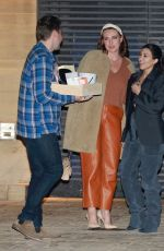 Kourtney Kardashian Has dinner at Nobu in Malibu