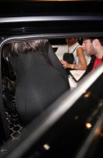 Kylie Jenner Seen leaving Staples Center in Los Angeles