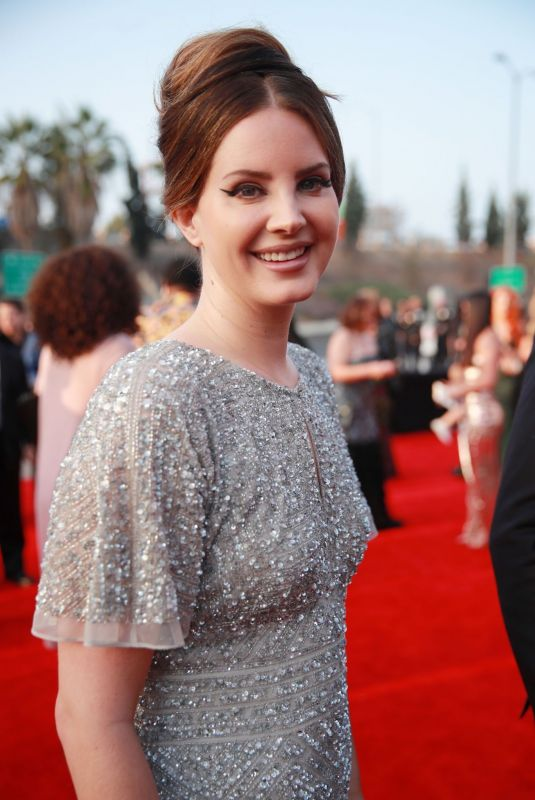 Lana Del Rey Arriving at 62nd Annual GRAMMY Awards in LA