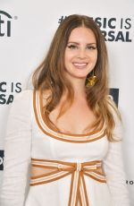 Lana Del Rey Attends 2020 Roc Nation THE BRUNCH