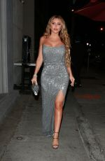 Larsa Pippen and Tinashe enjoy dinne at Craig