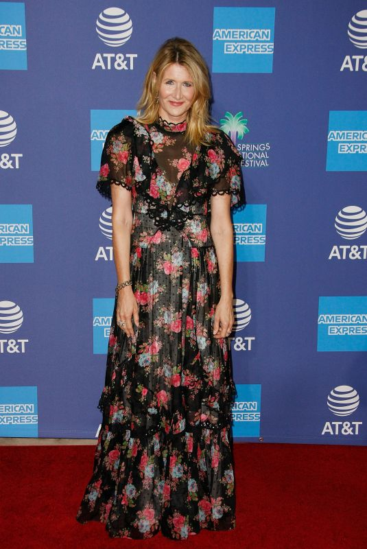 Laura Dern At 31st Annual Palm Springs International Film Festival Film Awards Gala at Palm Springs Convention Center