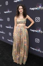 Laura Marano Attends the Instagram + Facebook Women in Music Luncheon in West Hollywood