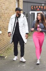 Lauren Goodger Spotted leaving the gym in Chigwell with a mystery man, Chigwell
