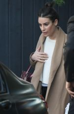 Lea Michele Out in Los Angeles