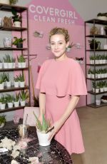 Lili Reinhart At Covergirl Clean Fresh Launch Party in Los Angeles