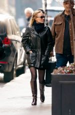 Lily Rose Depp Looks Fashionable After Shopping at Nespresso in New York City
