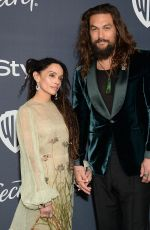 Lisa Bonet At 2020 InStyle and Warner Bros Golden Globes Party at the Beverly Hilton Hotel in Beverly Hills