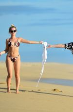 Lottie Moss On the beach in Cabo San Lucas Mexico
