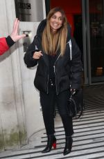 Louise Redknapp Seen leaving the BBC Radio 1 studios in London