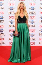 Lucie Donlan At 25th National Television Awards, Arrivals, O2, London
