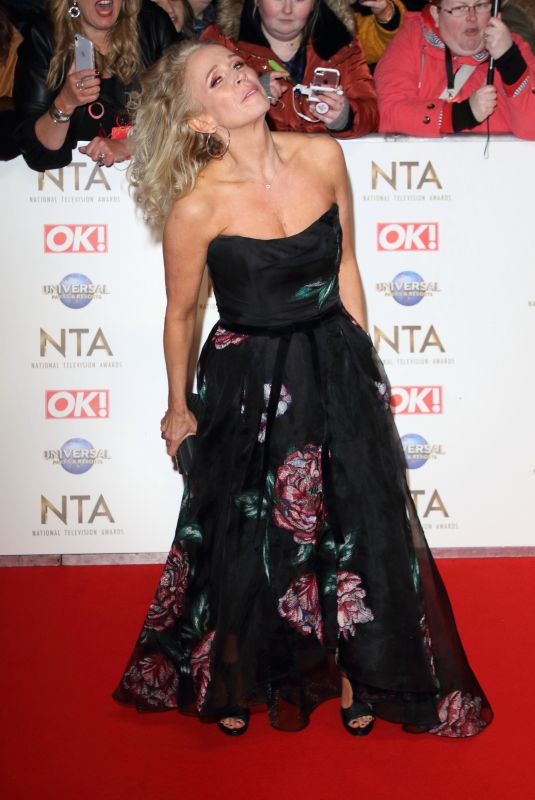 Lucy Benjamin At 25th National Television Awards, Arrivals, O2, London