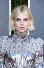 Lucy Boynton At 77th Annual Golden Globe Awards in Beverly Hills