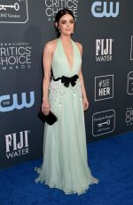 Lucy Hale At 25th Annual Critics Choice Awards in Santa Monica