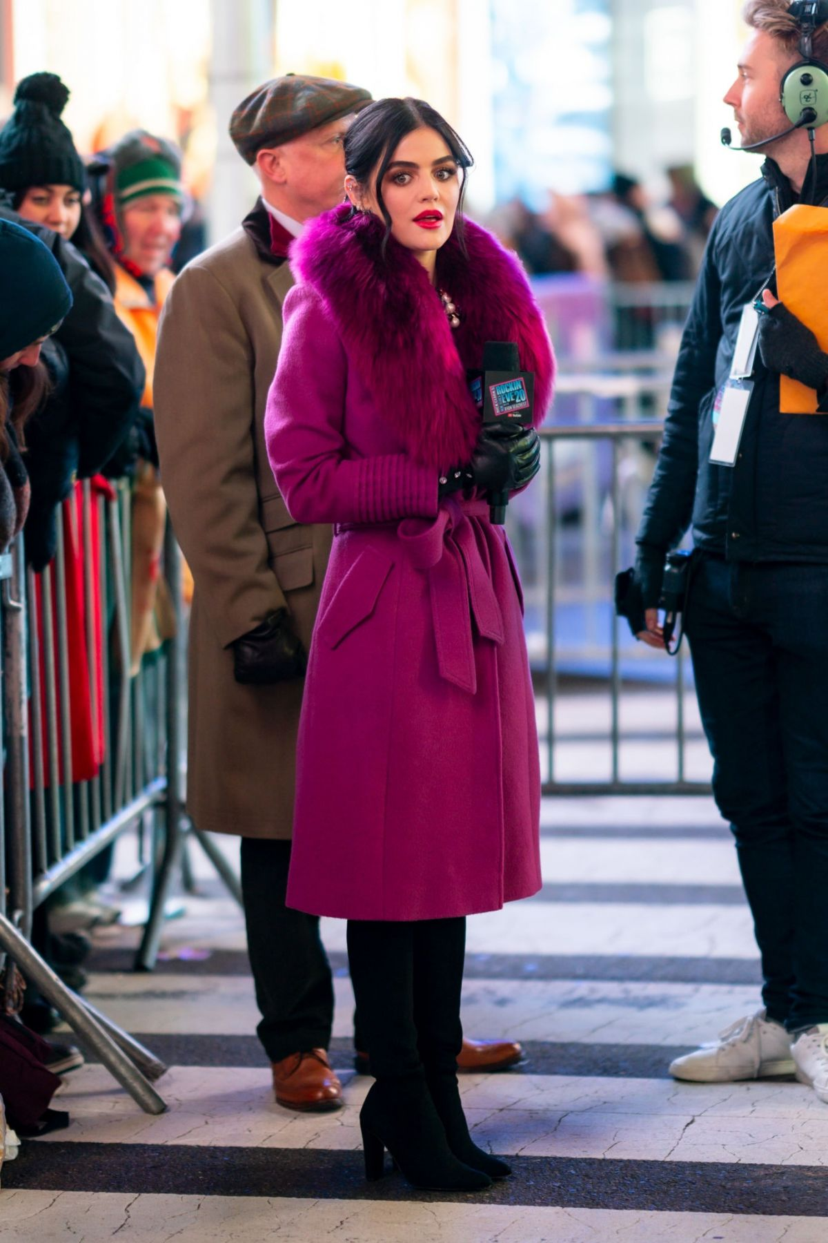 """Lucy Hale At ABC's """"Dick Clark's New Year's Rockin' Eve ..."""