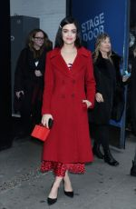 Lucy Hale Outside the