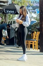 Madison Beer At Toast in West Hollywood