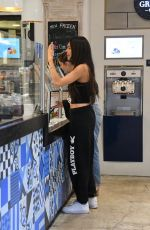 Madison Beer Grabs a sweet treat in Beverly Hills