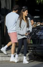 Madison Beer Has lunch at Toast in LA