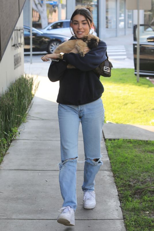 Madison Beer Outside of Cha Cha Matcha in West Hollywood