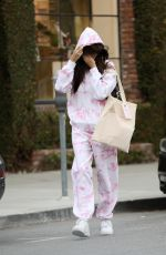 Madison Beer Shopping at Glossier in West Hollywood