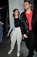 Maia Mitchell At Catch LA in Los Angeles