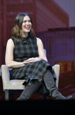 Mandy Moore At Consumer Electronics Show in Las Vegas