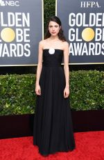 Margaret Qualley At 77th Annual Golden Globe Awards in Beverly Hills