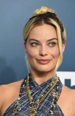 Margot Robbie At the 26th Annual Screen Actors Guild Awards in Los Angeles
