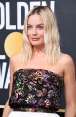 Margot Robbie At the 77th Annual Golden Globe awards in Beverly Hills