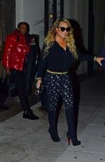 Mariah Carey Heading out for dinner in NYC