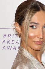 Megan McKenna At British Takeaway Awards, Arrivals, The Savoy Hotel, London