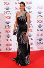 Melanie Sykes At 25th National Television Awards, Arrivals, O2, London