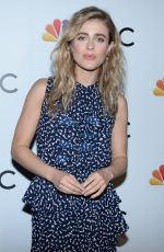 Melissa Roxburgh At the NBC and The Cinema Society party For the casts of NBC Midseason 2020 in New York