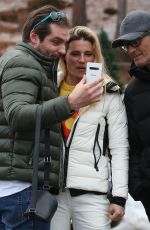 Michelle Hunziker And Tomaso Trussardi Together With The Greatest Italian Showman Rosario Fiorello And Wife
